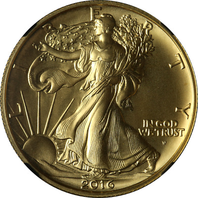 2016-w Walking Liberty Gold Centennial Ngc Sp70 24k 1/2oz Early Release Signed