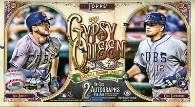 2017 Topps Gypsy Queen Baseball Hobby 10 Box Case Blowout Cards