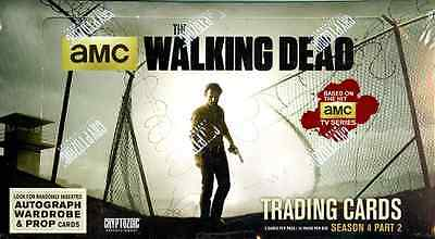 The Walking Dead Season 4 Part 2 Cards Hobby Sealed 12 Box Case Cryptozoic
