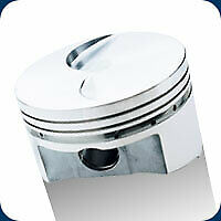 Ford 351 Cleveland Srp Flat Top Pistons 4.030 Bore Fits .927 Wrist Pin