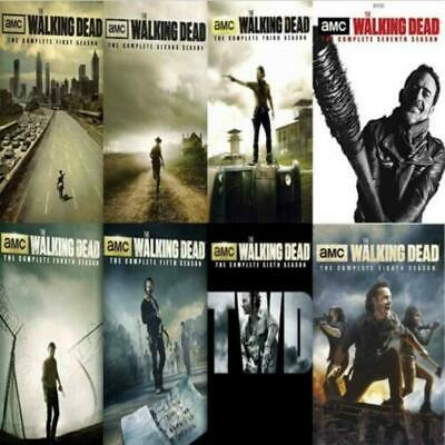 The Walking Dead Complete Seasons 1-8 Season- New Ship Fast