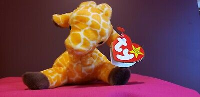 Ty Beanie Baby Twigs Giraffe 1995  W/ Tag  Plush Toy Rare  Retired