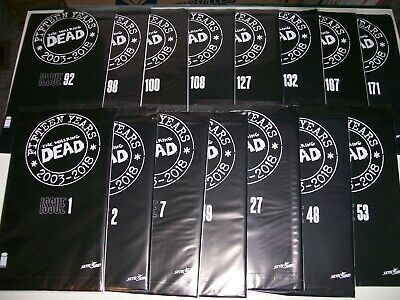 Walking Dead 15th Anniversary Blind Bag Mystery Cover Set Of 15 1st Print Image