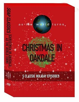 As The World Turns: Christmas In Oakdale (dvd) 5 Holiday Episodes New Oop Rare