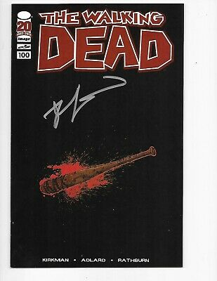 Walking Dead #100 Lucille Signed Variant