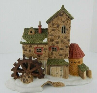 Dept 56 Dickens Village Cottage Mill Very Good Condition #1128/2500