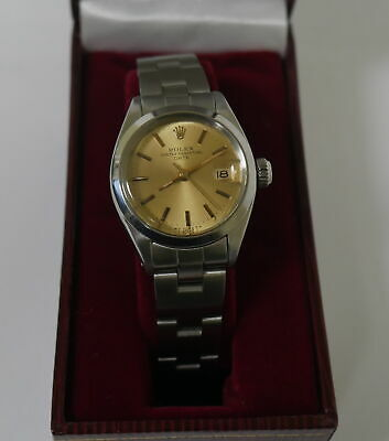 Authentic Rolex Oyster Perpetual Date Model 6916, 1981 In Very Good Condition!