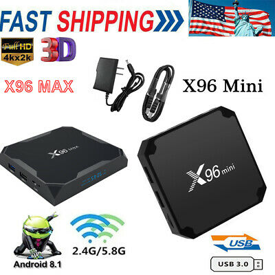 X96 Max Mini Smart Tv Box Android9.0 64gb Dual Wifi Media Player Bt S905x2 Q7o9