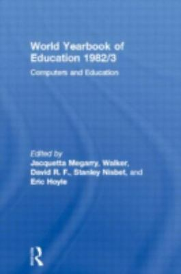 World Yearbook Of Education 1982/3 : Computers And Education, Hardcover, Bran...