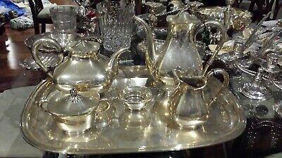 3500g Masterpiece Coffee Tea Set 6 Items Sterling Silver Coffee Bain Desig Of Me