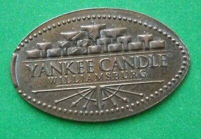 Yankee Candle Co Elongated Penny Williamsburg Va Usa Cent Souvenir Coin