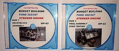 Budget Build Ford 5.0 302-347 Stroker Engine Video Dvd $1500 Short Block 531 Hp!