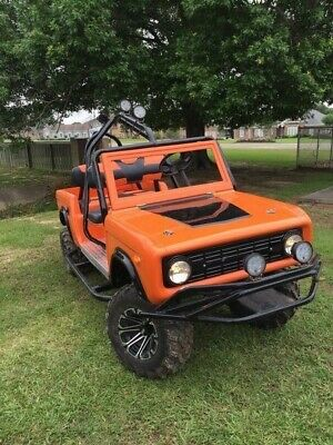 golf cart body kit bronco front and rear
