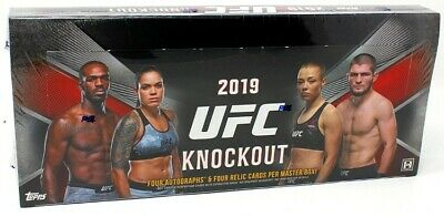 2019 Topps Ufc Knockout Hobby 12 Box Case Blowout Cards