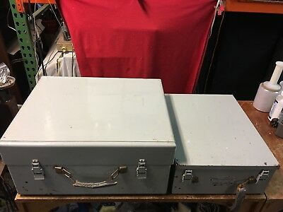 Western Electric Ks-15874-l2 Tube Tester By Hickok & 120 Card Case + 100
