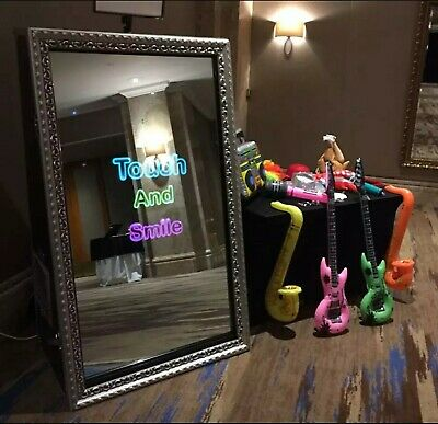"""55"""" Photo Booth Magic Mirror 2 Waytouchscreen With Protective Front Hard Cover"""