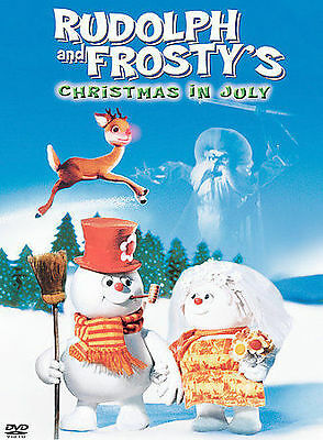 Rudolph & Frostys Christmas In July (dvd/p&s) By