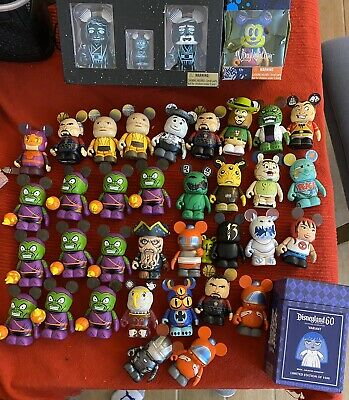 Vinylmation Lot Eachez Star Wars Spider-man You Story Beauty And The Beast Lot