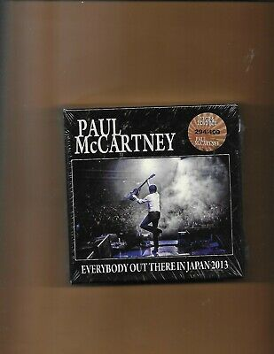 Everybody Out There In Japan Paul Mccartney Christmas Idea! New (13) Cd Dvd
