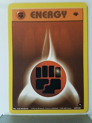 Fighting Energy 127/132 - LP - 1ST EDITION - Gym Challenge Pokemon Card