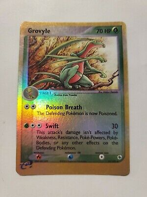 Pokemon - Grovyle - Ruby & Sapphire 31/109 - Reverse Holo Uncommon - Used