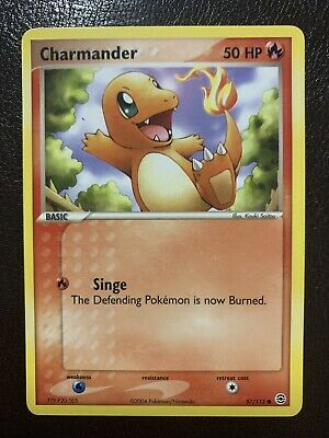 Charmander Pokemon Card - 57/112 FireRed & LeafGreen (Near Mint Condition)