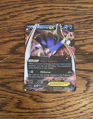 Pokemon - Malamar-EX - 58/119 - XY Phantom Forces - Ultra Rare - Near Mint