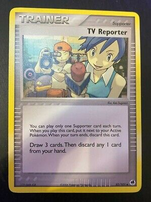 Pokemon- TV Reporter 82/101 Dragon Frontiers