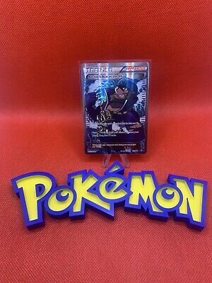 Pokemon card Primal Clash Full Art Archie's Ace in the Hole 157/160 light played