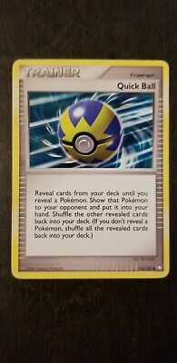 Quick Ball - 114/123 - Uncommon - D&P - Mysterious Treasures PLAYED PL POKEMON