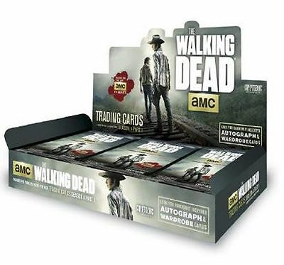 Walking Dead Cryptozoic Season 4 Part 1 Factory Sealed Hobby Case (12 Boxes)