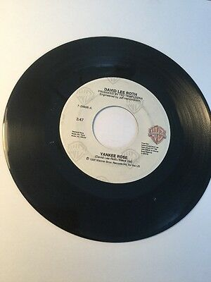 Rare Obscure Record 45 , David Lee Roth 1986 Shyboy Yankee Rose Steve Val