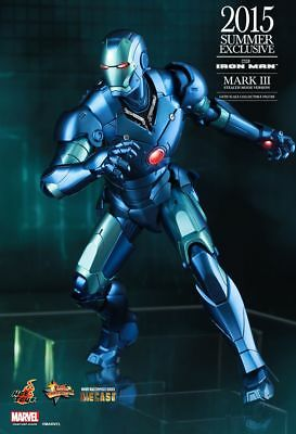 2015 Summer Exclusive Hot Toys 1/6 Iron Man Mms314d12 Mk3 Mark Iii Action Figure