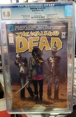The Walking Dead #19 Cgc 9.8 Comic Book Image 2005 1st Appearance Michonne