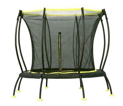 Skybound Atmos Sb-t08atm02 8 Foot Octagonal Black Trampoline With Safety Net