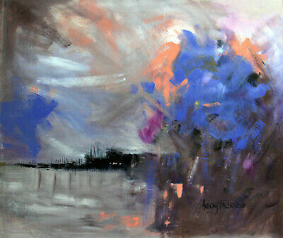 Things Of The World 1 Corinthians 1-27 Original Abstract Painting Anthony Falbo