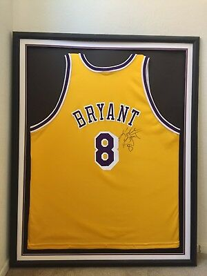 1996/97 Kobe Bryant Lakers Jersey Full Autograph Signed In Rookie Year Rc Auto