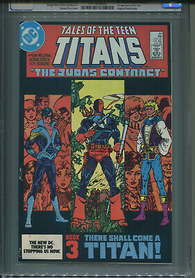 Tales Of The Teen Titans  # 44  Cgc 9.6 1st  Nightwing/deathstroke App  Key Book