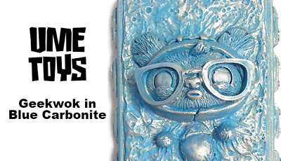 Nycc 2015 Exclusive Geekwok Blue Carbonite Ume Toys Only 10 Made Tenacious Toys