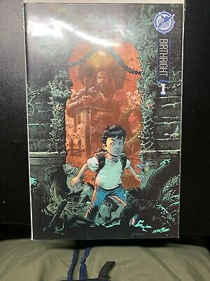 Birthright #1 Color Variant 2015 Sdcc 5th Anniversary Skybound Box Set Nm!! Cgc?