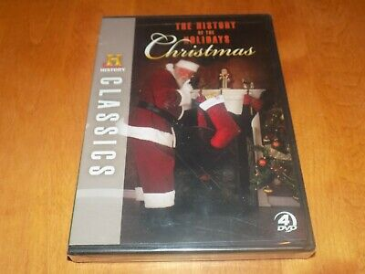 The History Of The Holidays Christmas Holiday 4-disc History Channel Dvd Set New