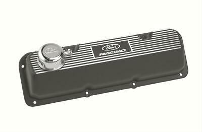 Ford Racing Aluminum Valve Covers M-6582-a341r Ford 351c Black Wrinkle