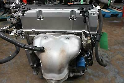 Honda Accord Engine K24a K24 2.4l Vtec Low Mileage Motor Long Block 2006-2007