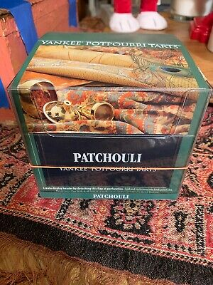 Yankee Candle Patchouli Lot Of 12 Tarts Wax Melts New Htf Scent Retired