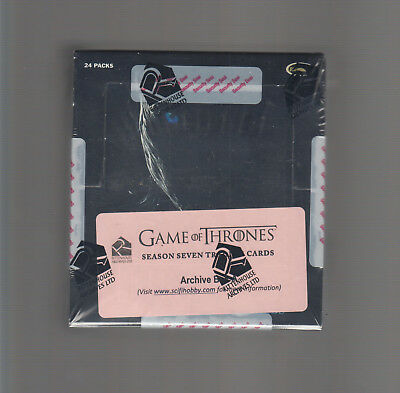 Game Of Thrones  - Season 7  - Factory Sealed Archive Box