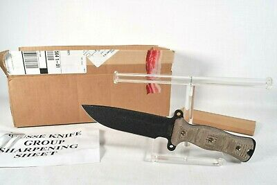 Rare! Authentic Busse Special Edition Team Gemini M A2 Knife -daryl Walking Dead