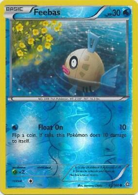 Feebas - 43/160 - Common - Reverse Foil Near Mint Pokemon XY Primal Clash 2B3