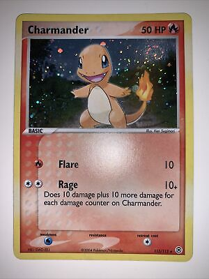 Pokemon EX FireRed & LeafGreen Charmander 113/112