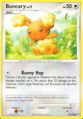 Buneary - 55/99 - Common NM Arceus Pokemon 2B3