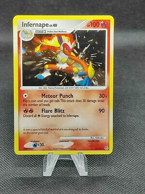 Diamond & Pearl Infernape 5/130 HOLO Pokemon Card (see photos for condition)